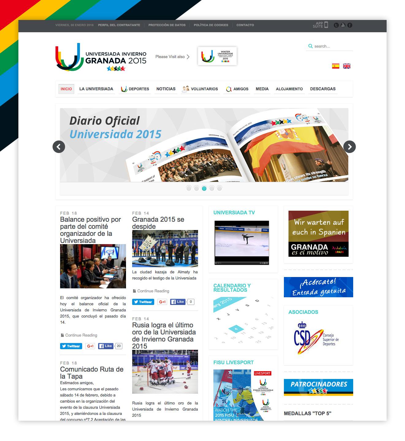 Imagen adicional 2 del proyecto Universiada de Invierno Granada 2015
