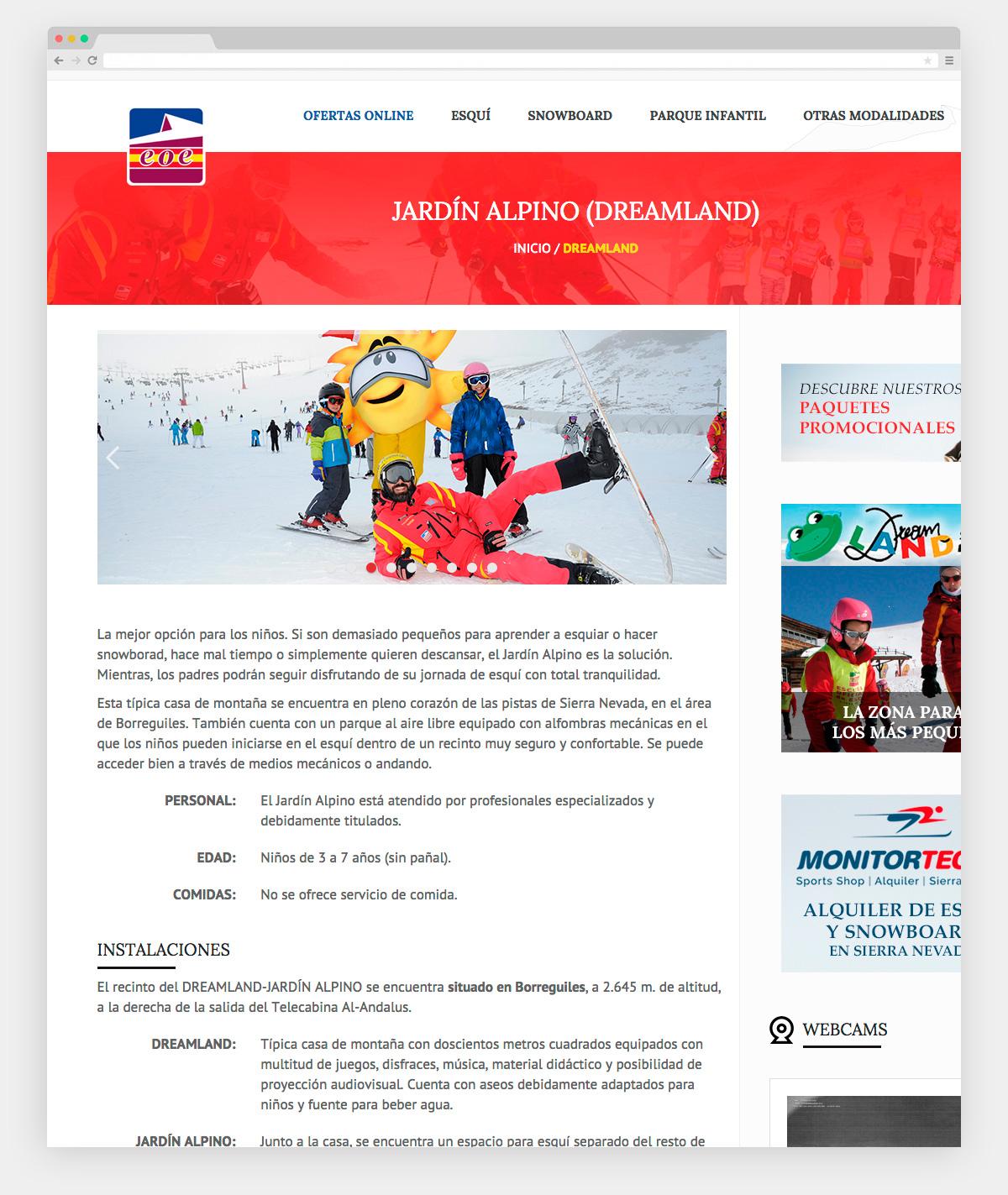 Imagen adicional 2 del proyecto Escuela oficial de esquí Sierra Nevada