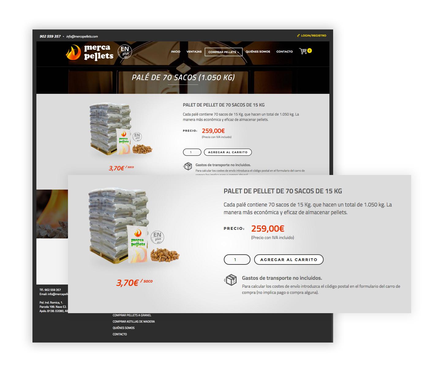Imagen adicional 2 del proyecto Merca Pellets