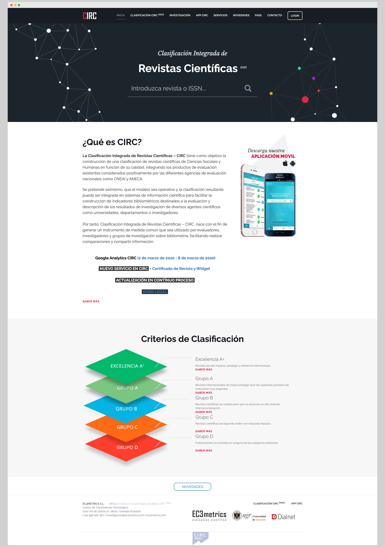 Imagen adicional 1 del proyecto Clasificación CIRC