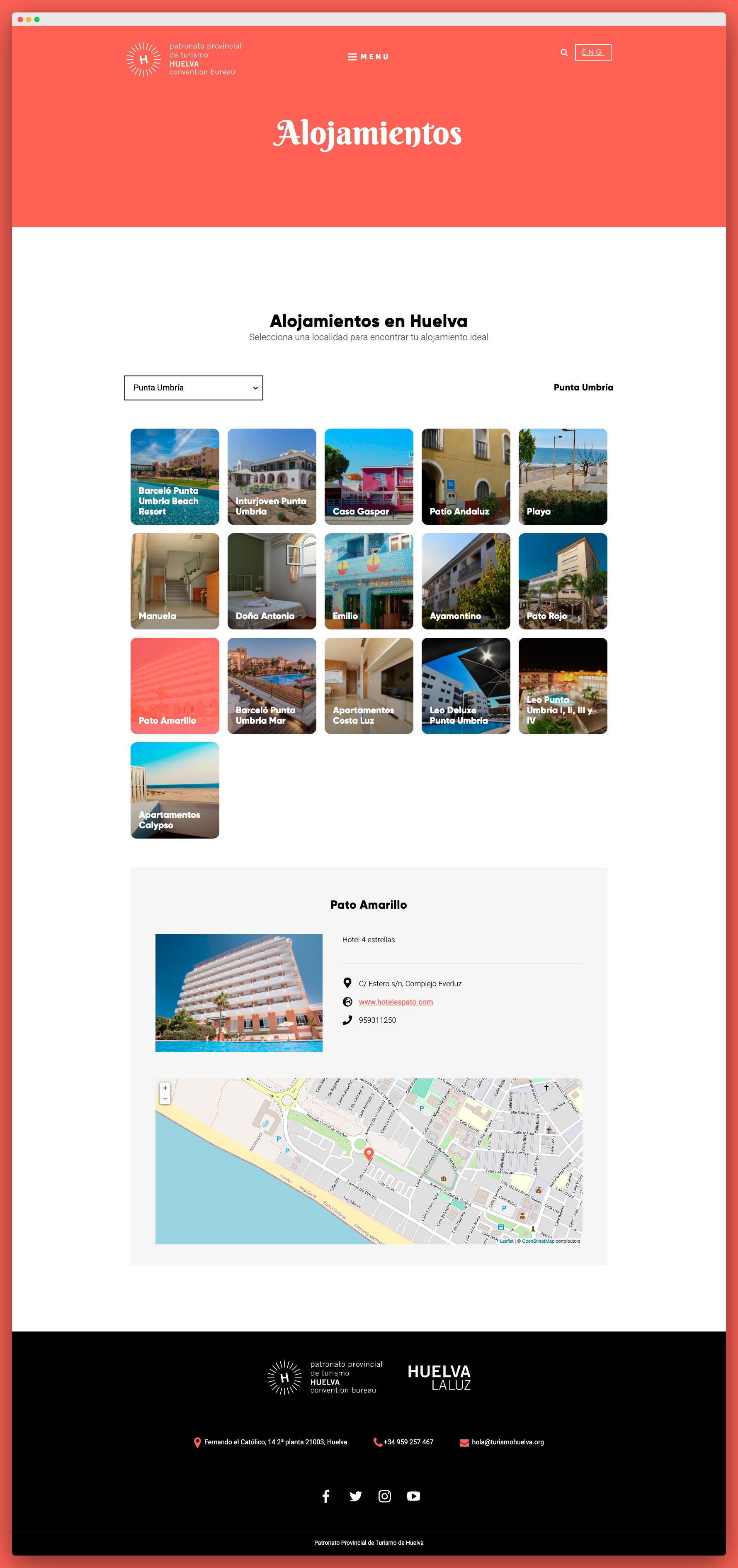Imagen adicional 3 del proyecto Patronato de Turismo de Huelva