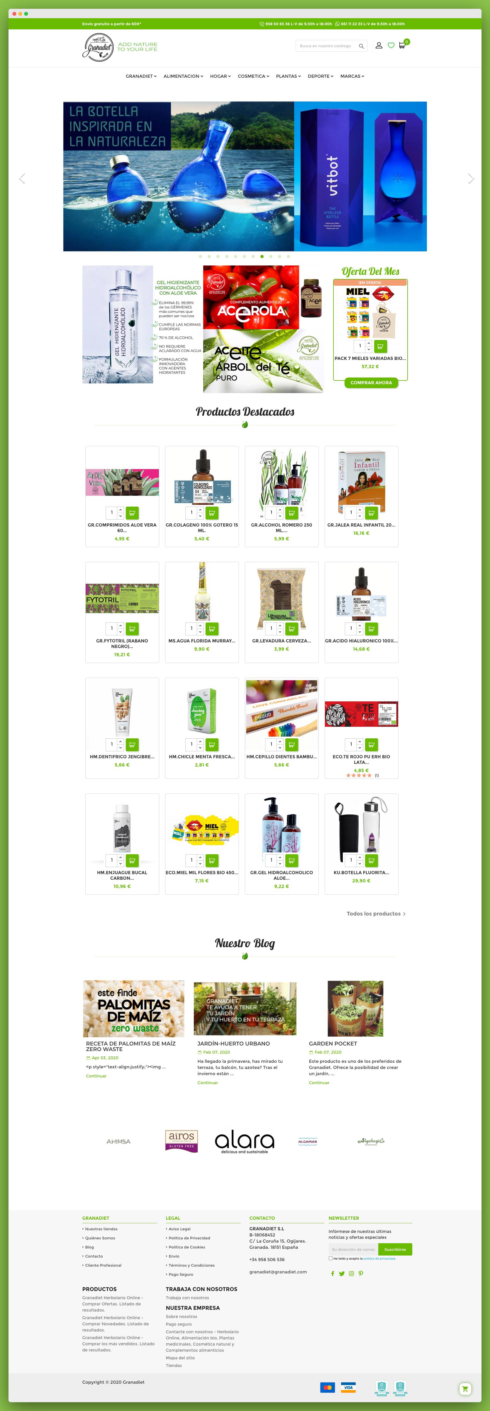 Imagen adicional 1 del proyecto Tienda Online Granadiet