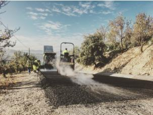 Improvements of tar road between Piñar and Torrecardela