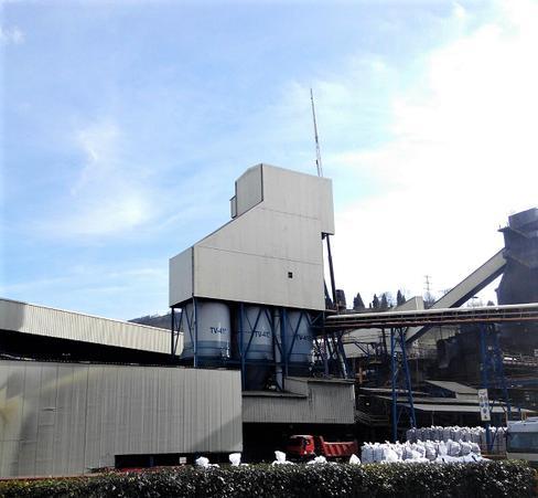 Montaje de apantallamiento acústico - Industrial Química del Nalón