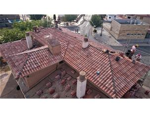 Renewal of tiled roofs in La Peza and La Calahorra (Granada, Spain)